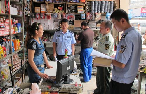淮阴分局果林派出所联合有关部门开展安全生产检查行动